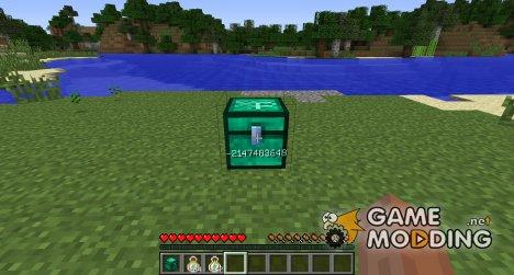 Сундук для опыта for Minecraft