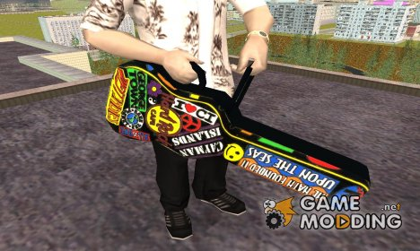 Guitar Case MG Colorful для GTA San Andreas