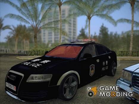 Audi RS6 Chinese Police for GTA San Andreas