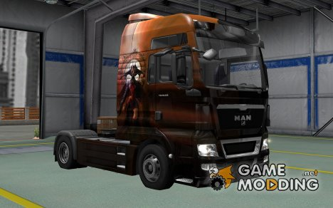 Скин Gluttony для MAN TGX for Euro Truck Simulator 2