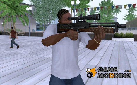 Walther WA2000 for GTA San Andreas