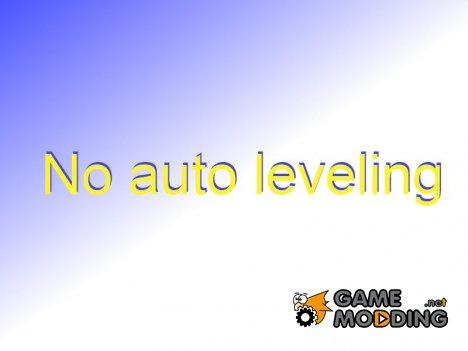 No auto leveling 1.0 для TES V Skyrim