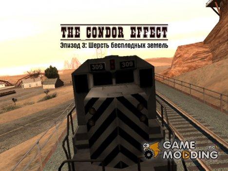 The Condor Effect. Эпизод 3. Шерсть бесплодных земель for GTA San Andreas