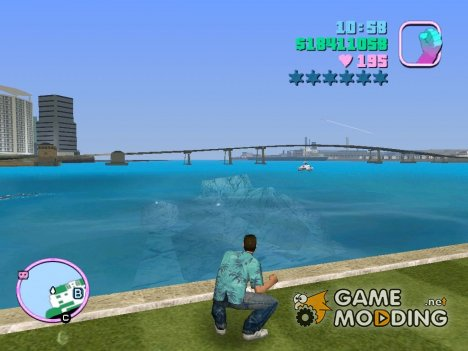 HD Вода for GTA Vice City