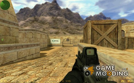 M4 SRIS On DMG Animations для Counter-Strike 1.6
