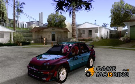Mitsubishi Lancer Evolution VII для GTA San Andreas
