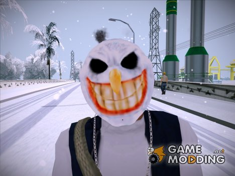 Mask of Snowman (GTA Online) для GTA San Andreas