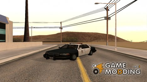 Ford Crown Victoria - LSPD Cruiser для GTA San Andreas