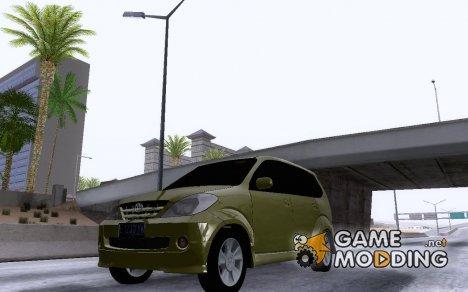 Toyota Avanza v3 для GTA San Andreas