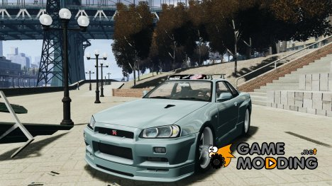 Nissan Skyline GT-R (R34) Stance for GTA 4