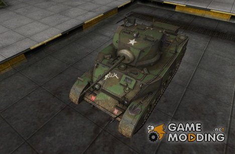 Шкурка для M5 Stuart for World of Tanks