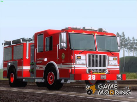 Seagrave Marauder II SFFD Engine 28 for GTA San Andreas