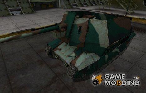 Французкий синеватый скин для FCM 36 Pak 40 for World of Tanks