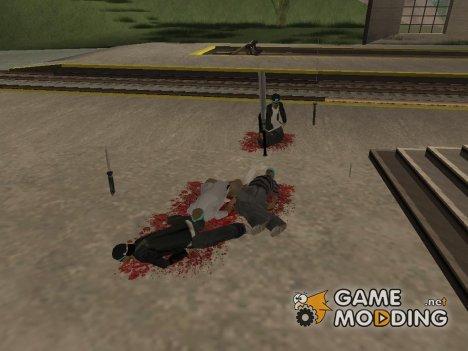 Анимация тела из GTA IV для GTA San Andreas