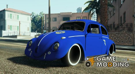 VW Beetle Livery Goodyear для GTA 5