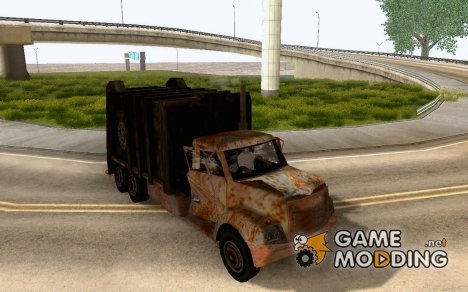 Abandoned Trashmaster for GTA San Andreas
