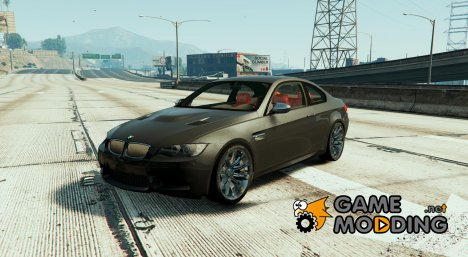 BMW M3 E92 + Performance Kit BETA 0.1 for GTA 5