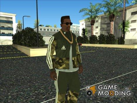 Adidas Suit Shirt Camo для GTA San Andreas