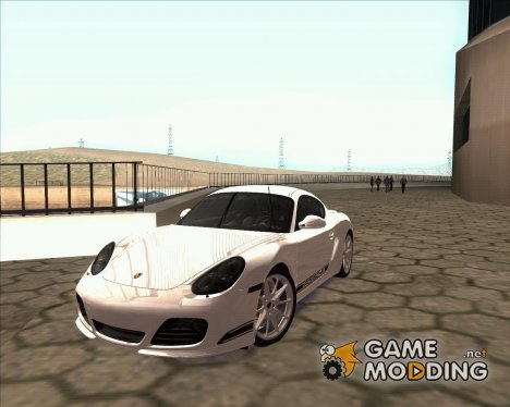 Porsche Cayman R 987 2011 V1.0 for GTA San Andreas