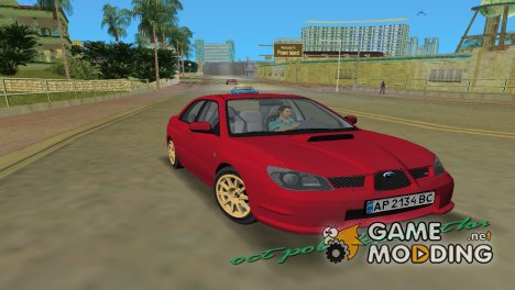 Subaru Impreza WRX STI 2006 for GTA Vice City