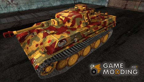Шкурка для PzKpfw V-IV for World of Tanks
