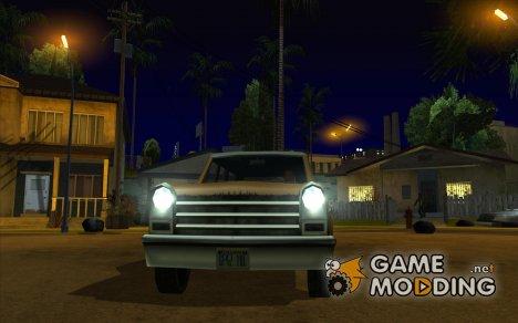 Новые ксеноновые фары для GTA San Andreas