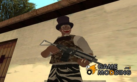 GTA V Heavy Shotgun V2 - Misterix 4 Weapons для GTA San Andreas