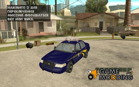 Ford Crown Victoria Orgeon Police для GTA San Andreas
