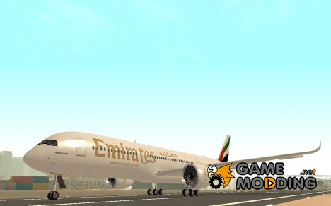 Airbus A350-900 Emirates for GTA San Andreas