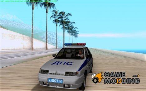 ВАЗ 2112 ДПС Полиция for GTA San Andreas