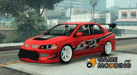 Mitsubishi Lancer Evolution IX FNF v1.0 для GTA 5