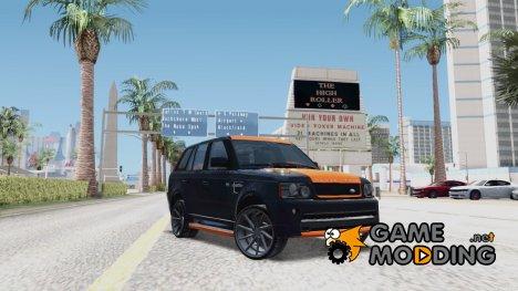 Range Rover Sport 2012 Samurai Design for GTA San Andreas
