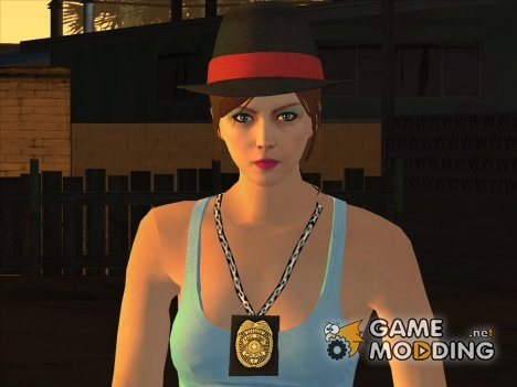 Female Cop GTA Online для GTA San Andreas