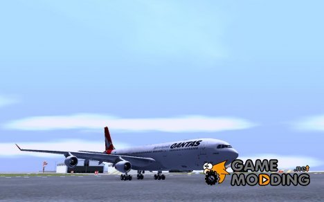 Airbus A340-300 Qantas Airlines for GTA San Andreas