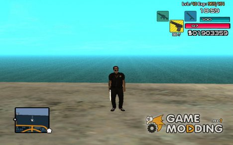 C-HUD by SampHack v.14 для GTA San Andreas