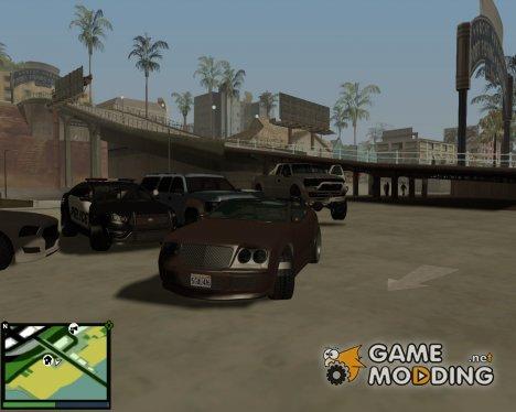 Пак машин из gta 5 v.2 для GTA San Andreas