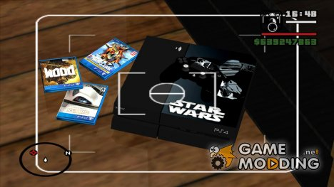 PS4 Star Wars edition для GTA San Andreas