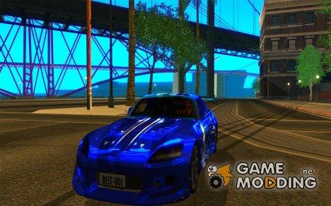 Honda S 2000 for GTA San Andreas