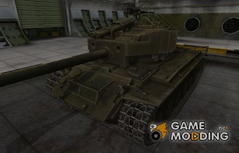 Шкурка для американского танка T26E4 SuperPershing для World of Tanks