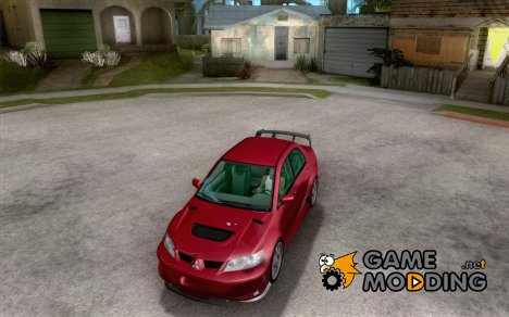 Mitsubishi Lancer Evolution 8 MostWanted для GTA San Andreas