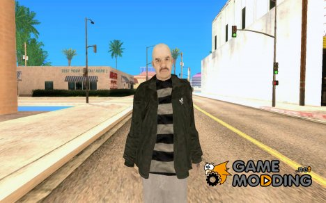 Bald character for GTA San Andreas