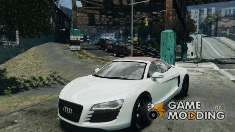 Audi R8 Spyder 2010 v 2.0 для GTA 4