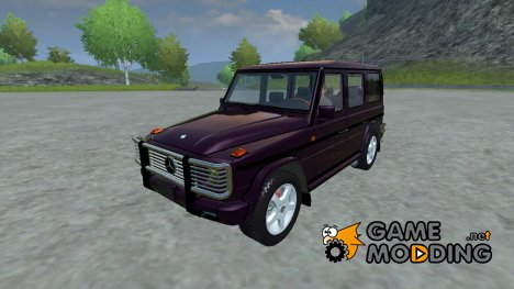 Mercedes-Benz G500 v 2.0 for Farming Simulator 2013
