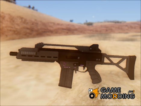 GTA V Vom Feuer Special Carbine for GTA San Andreas