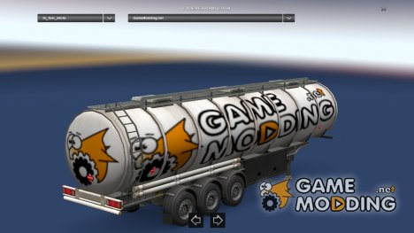 Mod GameModding trailer by Vexillum v.3.0 для Euro Truck Simulator 2