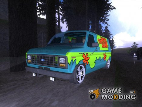 Ford Scooby Doo Mystery Machine для GTA San Andreas