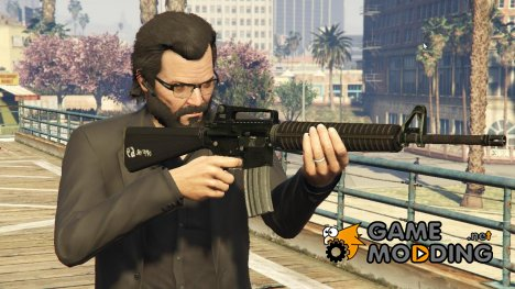 M16 1.0 for GTA 5