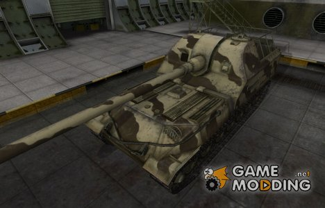 Пустынный скин для Объект 261 для World of Tanks