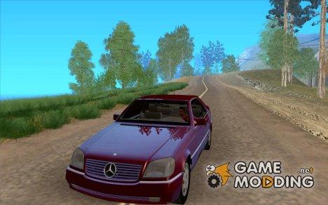 Mercedes-Benz 600SEC (c140) 92 for GTA San Andreas