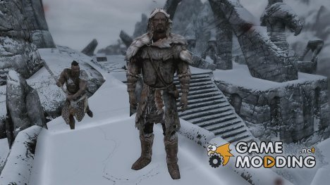 Padded Fur Armor for TES V Skyrim